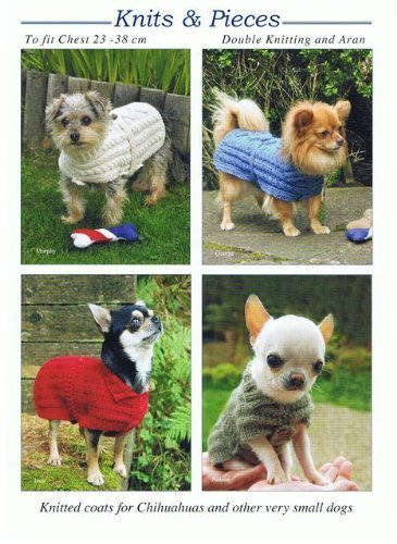 Knits Pieces Knitting Pattern Knitted Coats For Chihuahuas And