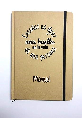 Libreta Personalizada Para Profesores Y Maestros Ensenar Es Dejar