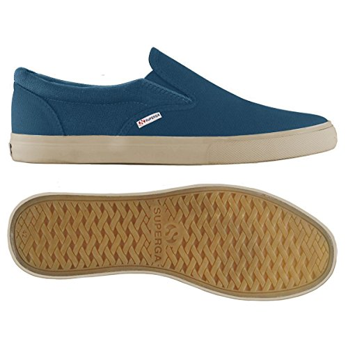 BLUE Superga Mocassini Cotu adulto Unisex SMOKY 2311 XwnxOaw