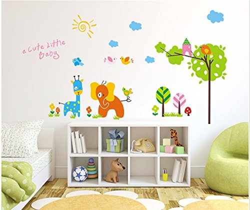 The Real Peel Premium Removable Wall Stickers for Kids Rooms