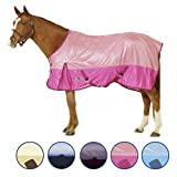 Centaur Super Fly Sheet - Size:72 Color:Ice Blue/Navy