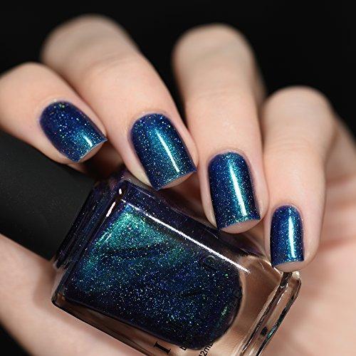 ILNP Interstellar - Navy, Teal, Purple Holographic Nail Polish - Buy ...