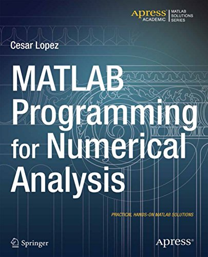Download MATLAB Programming for Numerical Analysis (Matlab Solutions) Pdf