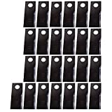 527747NI New New Idea Pack of (25) LH Disc Mower Blades 5209 5212 5406 5407 +