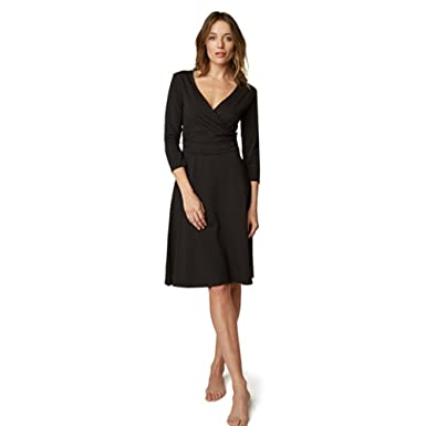 7d909b1c666052 Dr. Mercola SITO Organic Cotton Wrap Dress at Amazon Women's ...