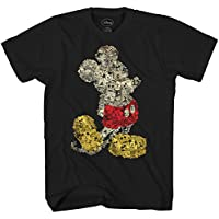 Mickey Mouse Collage Disneyland Disney World Tee Funny Humor Adult Mens Graphic T-shirt Apparel