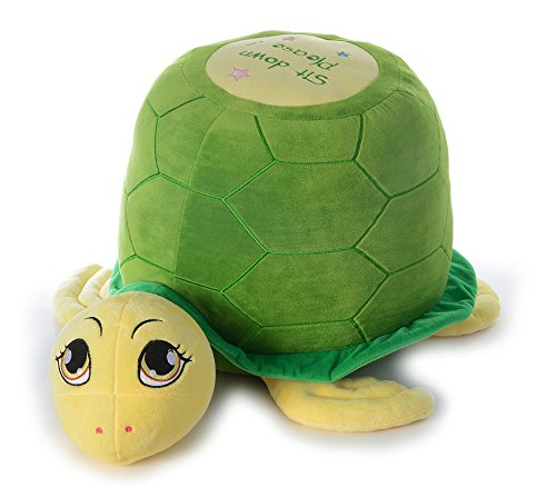Dimpy Stuff Turtle Seat with Support, Green (65cm)