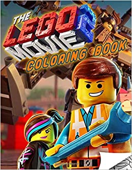 Lego Movie 2 Coloring Book: Lego 2 Coloring Book With Unique Images ...