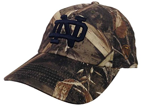Top of the World Notre Dame Fighting Irish Tow Realtree Max-5 Camo Crew Adjustable Slouch Hat Cap