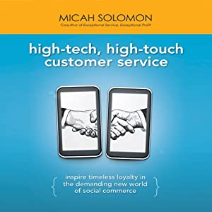 High-Tech, High-Touch Customer Service Audiobook