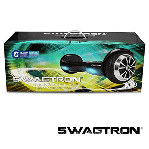 Swagtron T1 Hands Free Smart Hoverboard -Two Wheel Self Balancing Electric Scooter