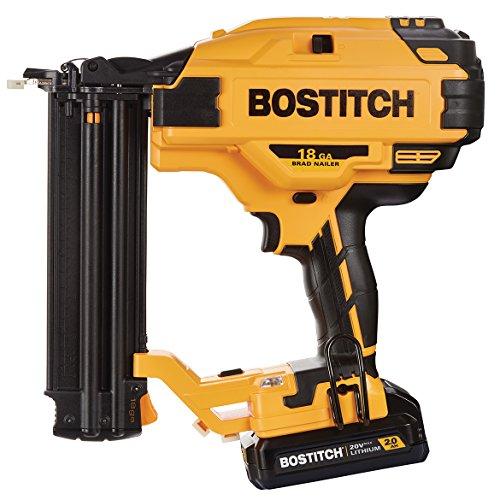 BOSTITCH 20V MAX 2.0 Ah Li-Ion 18Ga Brad Nailer Kit BCN680D1