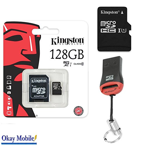 Original Kingston 8GB Micro SD SDHC Memory Card 128 GB Tabl