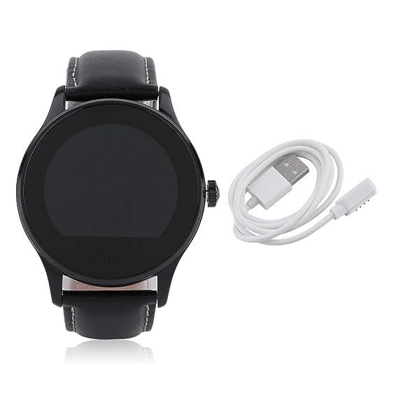 Amazon.com: Water Resistant Unisex Smartwatch Round ...