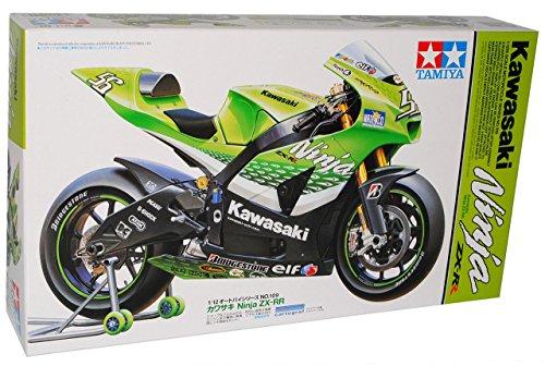 Kawasaki Ninja ZX-RR Nr 55 Grün Kit Bausatz 1/12 Tamiya Modell Motorrad Modell Auto