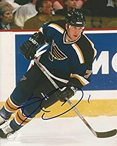 Signed Keith Tkachuk St. Louis Blues 8x10 - Certified Autograph