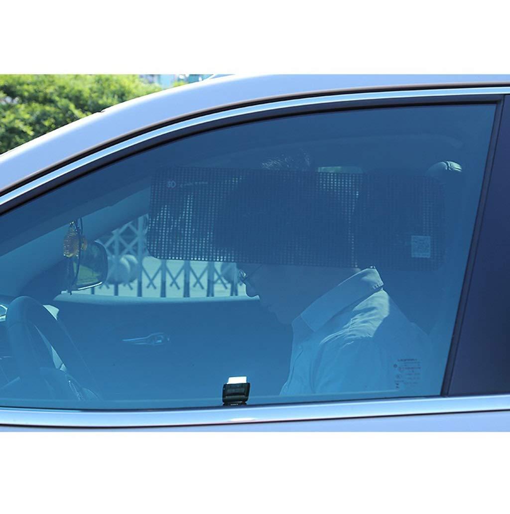 Color : Black-42 * 15CM Parasol para autom/óviles Pel/ícula electricidad est/ática Etiqueta engomada del sol Barrera de la luz solar Ventana lateral Visera no afecta el elevalunas negro 4pcs