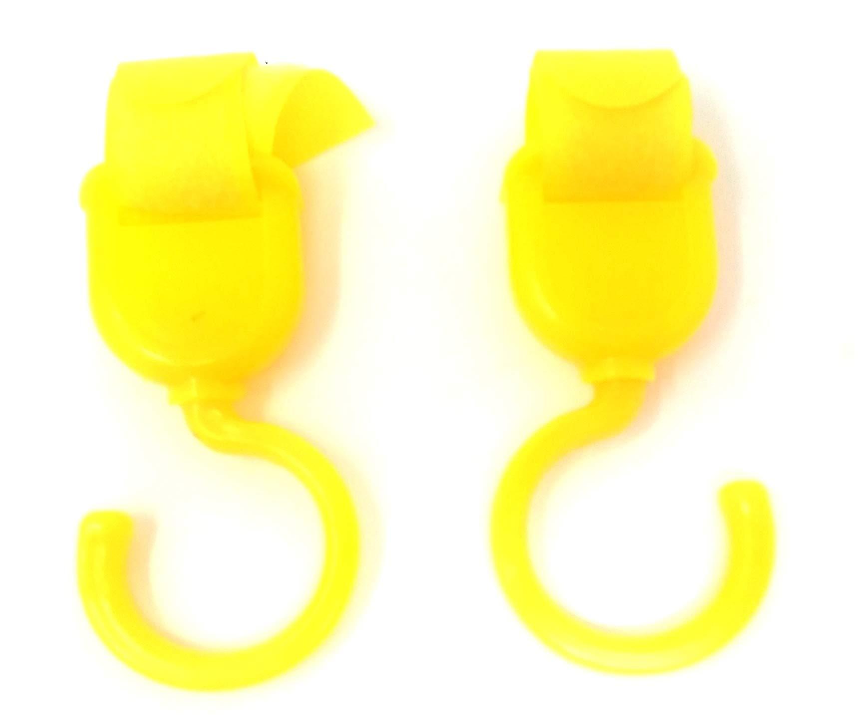 24 Multi Function Hooks 360 Degree Rotation Stroller Hooks, Airing Rod Hooks Wholesale Bulk LOT