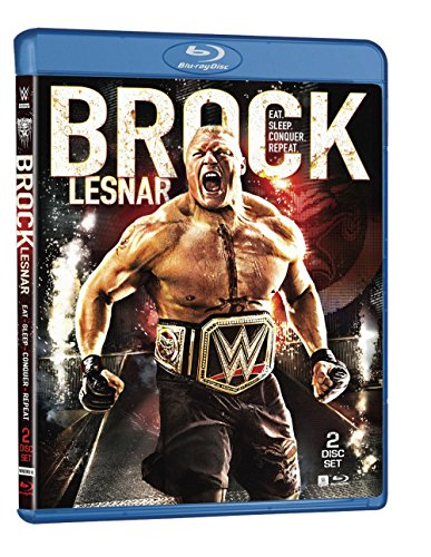 WWE: Brock Lesnar: Eat. Sleep. Conquer. Repeat. (Blu-ray)