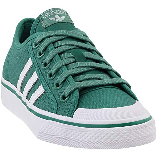 (adidas Mens Nizza Casual Shoes Green 11 )