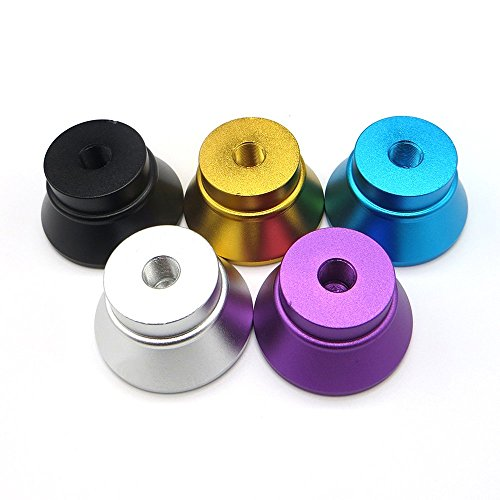 5 Pack Metal Stand Base Holder for 510 Thread Tank (Multi-color) (Tank Threaded)