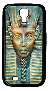Big Face Tut Custom Samsung Galaxy I9500/Samsung Galaxy S4 Case Cover Polycarbonate Black