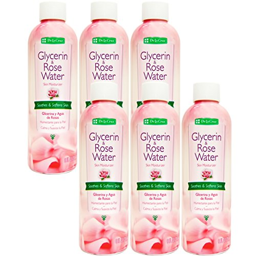 6pk - Glycerin Rose Water - Glicerina Agua de Rosas (Vital Rose Moisturizer)