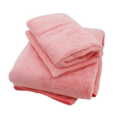 Premium Microfiber Coral Velvet Towel Set : 1 Bath Towel 29.