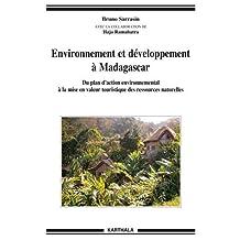 Environnement et Developpement a Madagascar: Plan Action Environn