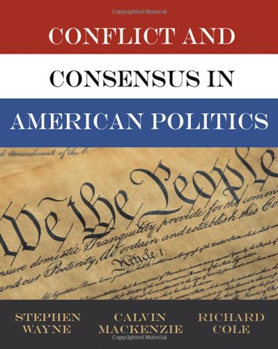 Conflict and Consensus in American Politics, Election Update