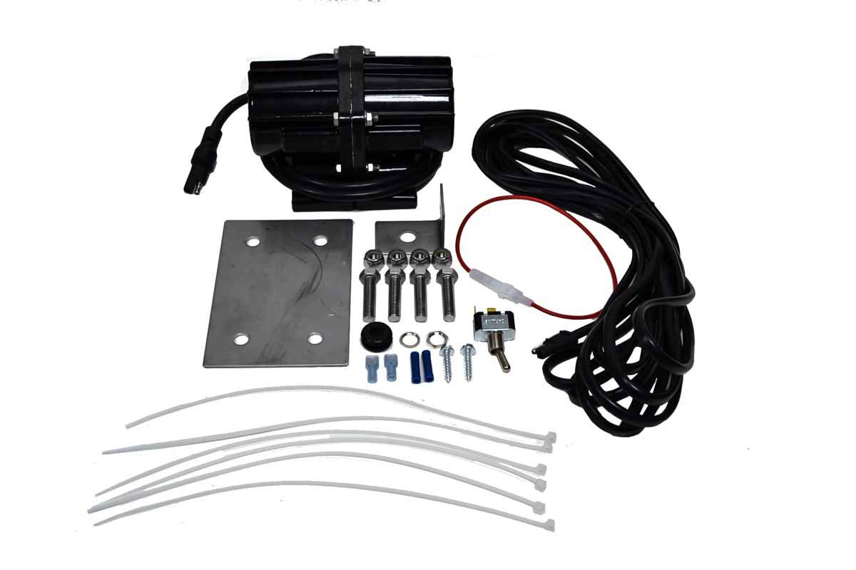 80lb Salt & Sand Vibrator Motor Harness Kit for Buyers SnowEx Trynex Meyers Western Fisher Spreader by Replaces Meyers