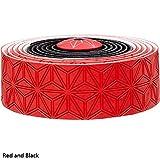 Supacaz Super Sticky Kush Multi Color Bar Tape (Red / Black)
