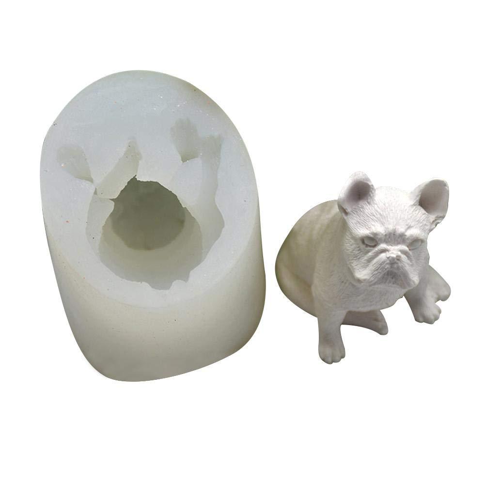 DIY Kuchen Silikonform Lebensmittelqualit/ät Silikon Leo565Tom Kaninchen Tier 3D Kuchenform Weihnachten Hand Machen Fondant Schokolade Kuchen Backform DIY Form