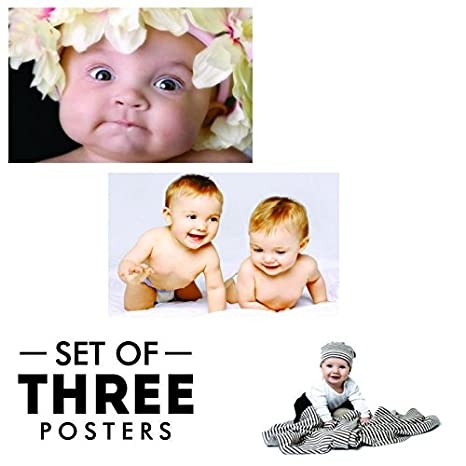 d6f9aa1c720 Paper Plane Design Baby Posters , 12 x 18 Inch,300 GSM Paper(Combo of  3),Black
