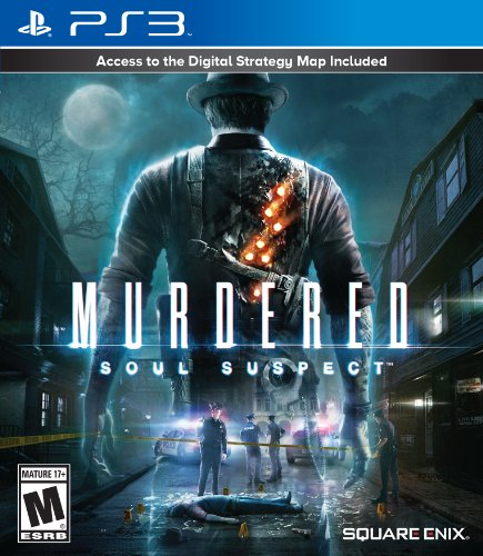 Murdered: Soul Suspect PS3 (Scary Ps3 Games)