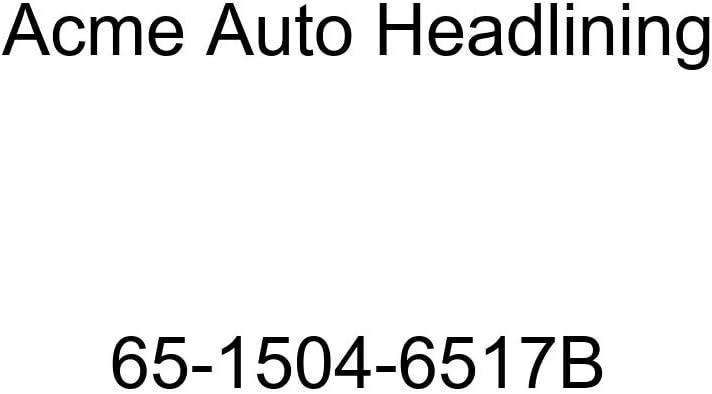 Acme Auto Headlining 65-1504-6517B Light Blue Replacement Headliner Pontiac Catalina /& Star Chief 2 /& 4 Door Sedan 5 Bow