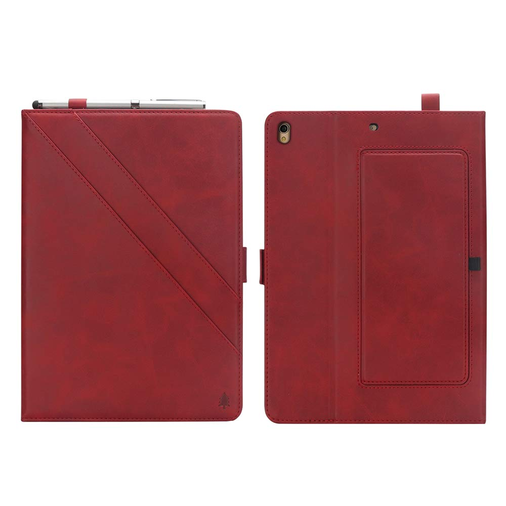 iPad 10.5 Air 3rd Generation Case, taStone Premium PU Leather Business Folio Cover Stand Case with Card Holder Auto Wake/Sleep Document Pocket for iPad Air 3rd Gen 2019 / iPad Pro 10.5'',Red by US taStone (Image #8)