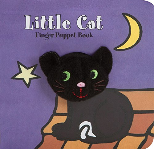Little Cat: Finger Puppet Book (Little Finger Puppet Board (Cute Halloween Stories)