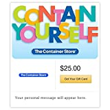 The Container Store Contain Yourself Gift Cards - E-mail Delivery