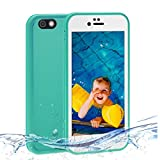 iPhone 7 Plus Waterproof Case,Zmiq Waterproof Case Shockproof Protective Skin Snowproof Case Dirtpoof Cover for iPhone 7 Plus 5.5inch (7Plus5.5 Green FSK)