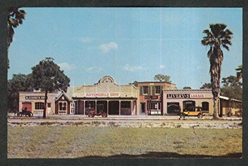 Horn's Cars of Yesterday North Tamiami Trail Sarasota FL postcard - Sarasota Tamiami Trail Fl