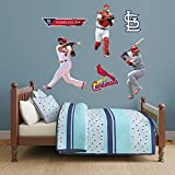 MLB St. Louis Cardinals Yadier Molina Hero Pack Fathead Real Big Decals, One Size, Multicolor