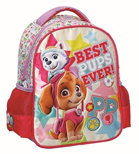 GIM, Kinderrucksack Zaino Asilo Trolley Girl pink
