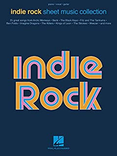 Book Cover: Indie Rock Sheet Music Collection