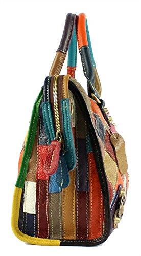 S-Kiven, Borsa a mano donna Multicolore multicolore