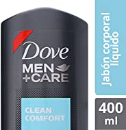 Dove Jabón Líquido Corporal Men+Care, Clean Comfort, 400 ml