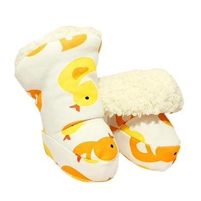 fcbae185fc9ce Per Chaussures Bébés Filles Enfants Premiers Pas Chaussettes Bébés 0-1 Ans  Automne et Hiver