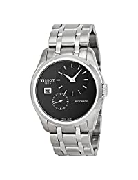 Tissot Men's T0354281105100 Couturier Analog Display Swiss Automatic Silver Watch