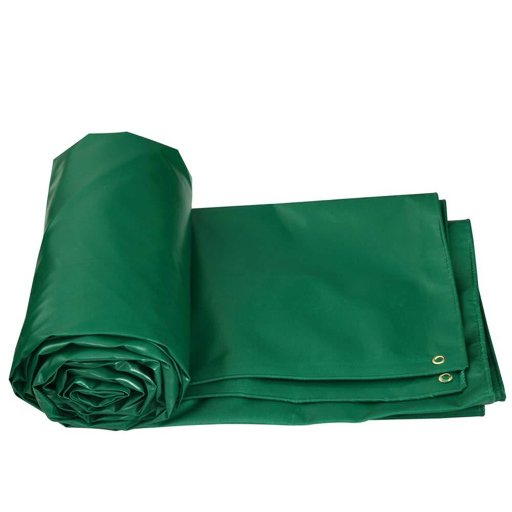 vert 64m Bache YNN Auvent Anti-Pluie Double Face imperméable Anti-Pluie 520 g m² (épaisseur 0,5 mm) étanche (Couleur   vert, Taille   3  2m)