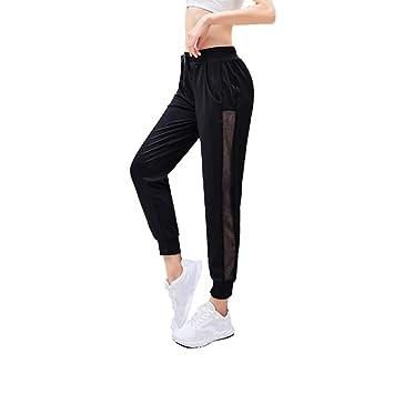 Sairain Pantalones de harén de Yoga Jogger para Mujer Pantalones ...